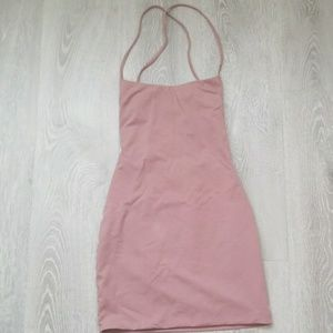 Luvalot pink mini Bodycon dress size US4